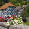 96183365 – beautuful schiltach in black forest, germany